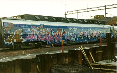 The Raw and Arka - X2000 wholecar 1996
