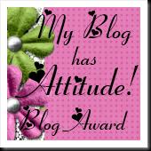 Ive got attitude blog award