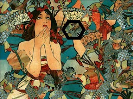 Screenshot of Puzzle Puzzlix: Mucha