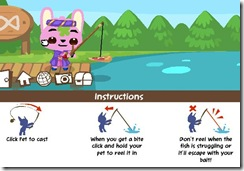 Pet Society Fishing Bait