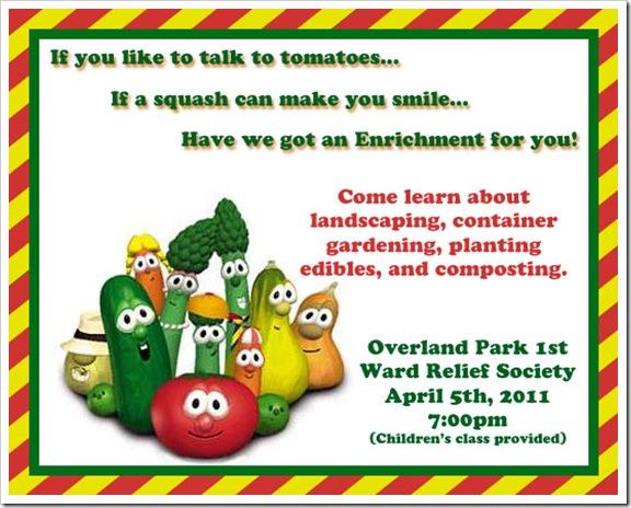Veggie Invite