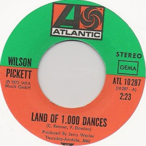 Wilson Pickett - Land of 1000 Dances / Funky Broadway