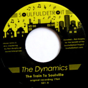 The Dynamics - The Train To Soulville / Instrumental