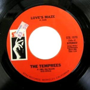 The Temprees - Love's Maze / A Thousand Miles Away