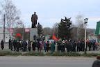 Митинг в честь революции