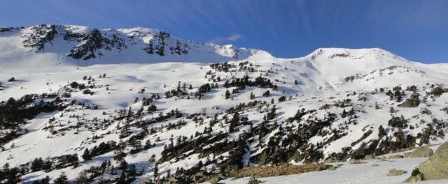 destinos: turó de frontanet y pico de estós o tuca del dalliu