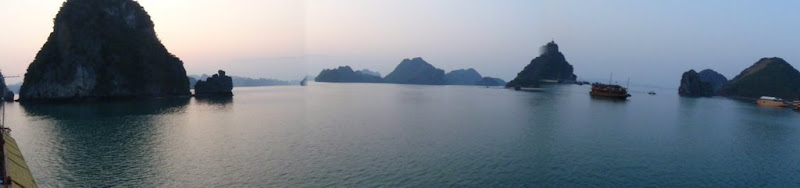 panorama Ha Long Bay