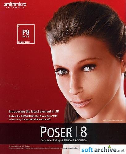 Smith Micro Poser Pro 8.0.3.11414 [Windows All] (2010) - Eng
