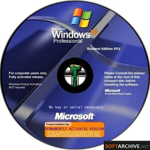 Windows XP Service Pack 3 Student Edition Final - Summer Vacation (June 2010)