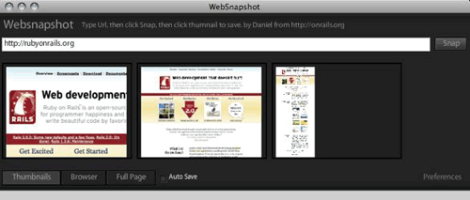 websnapshots
