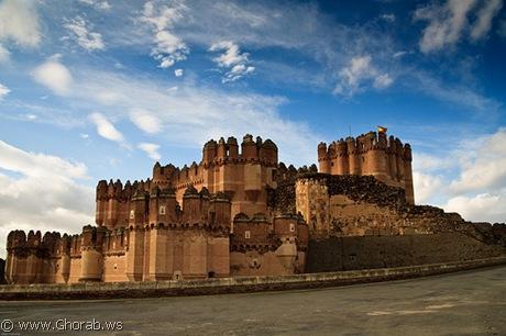 قلعة كاستيلو دي كوكا - Castillo de Coca, اسبانيا