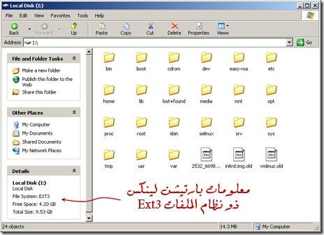 Mount Linux Partition on Windows