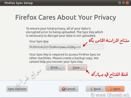 Firefox Cares About Your Privacy