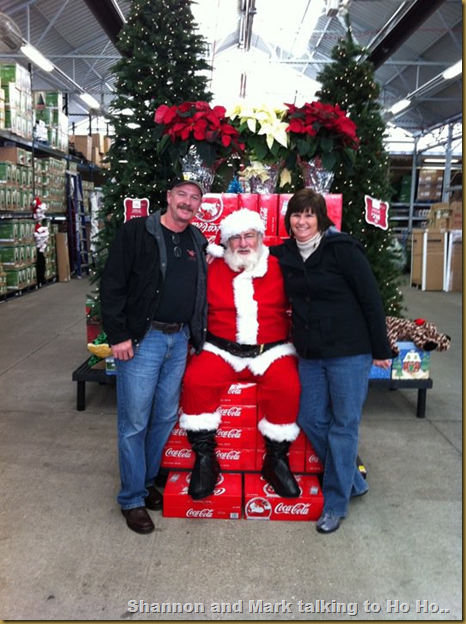 Shannon and Mark with Ho Ho.