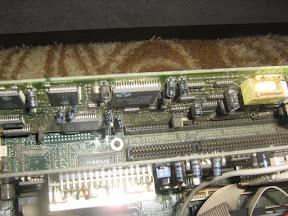 Destaque da placa de som/modem MMAT3100