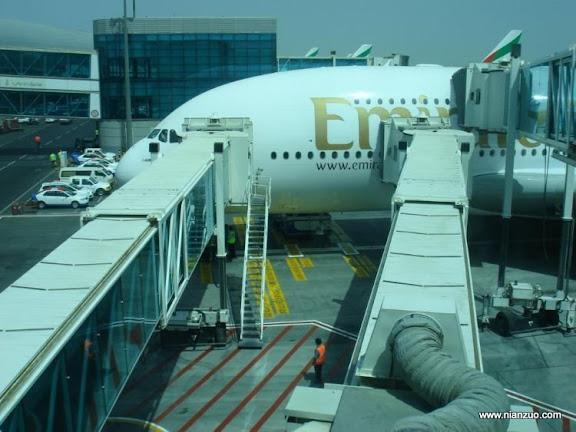 酋长的A380 ,登机口