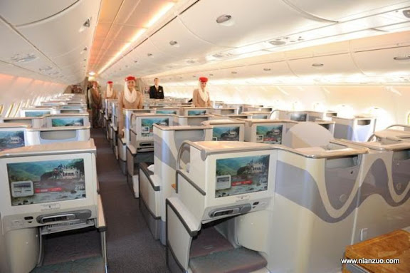 酋长的A380 空间太大了,赶上网吧了