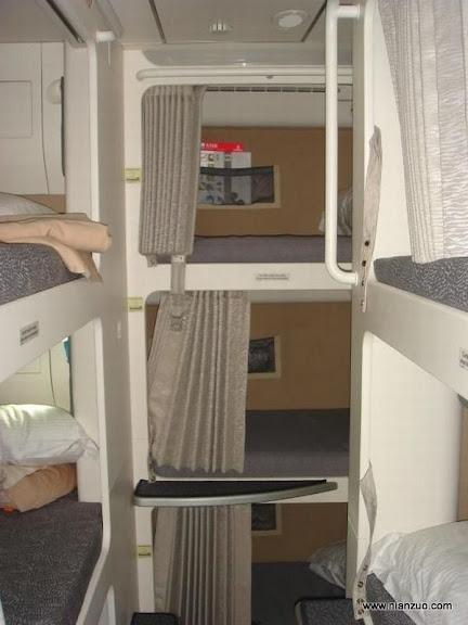 酋长的A380 这里还有卧铺?