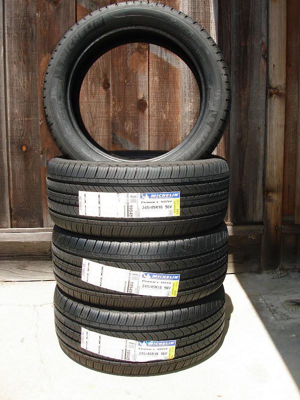 F/S: Michelin Primacy MXV4 245/45-18 Brand New! | Motoring ...