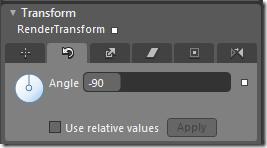 Rotate Transform