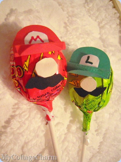 Mario and Luigi birthday party