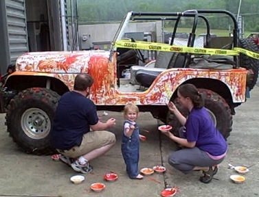 Painting Jeep_1