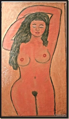 Oranssi nainen