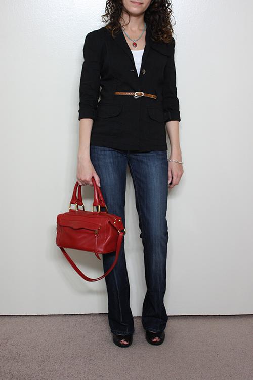 Petite Outfit: Theory Caprine Jacket