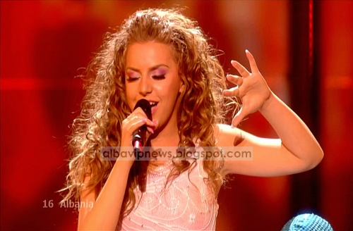 Kejsi Tola Eurovision 2009 Semifinal 2