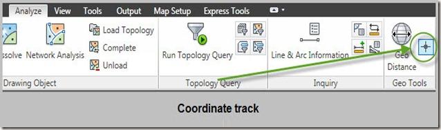 coordinate track