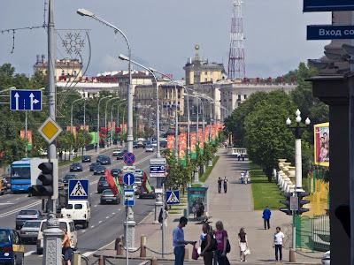 Проспект незалежності, Мінськ