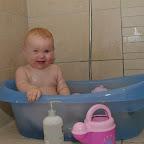 Silje frækkerten i bad
