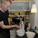 Der blir lavet hjemmelavet medister med stor stil