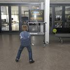 Der var Wii, bordtennis og fodboldsturnering som underholdning for de barnlige sjæle