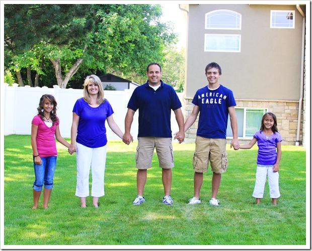 Jason family stand PRINT 8x10