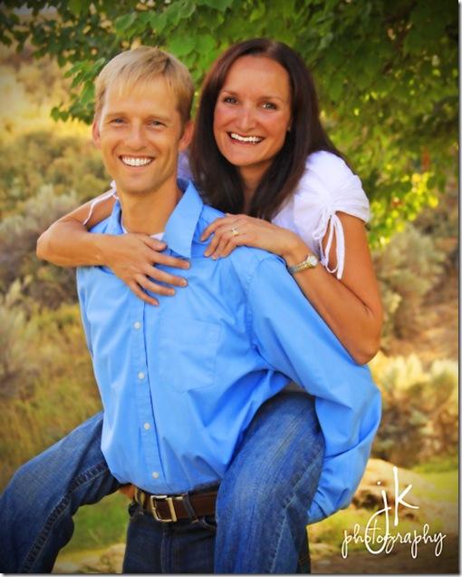Cute couple weblogo