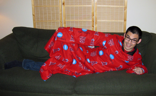 Thomas Angel Snuggie