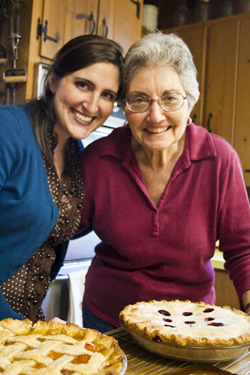 Sarah Grandma Baking Pie