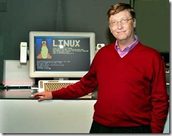 Bill usando Linux