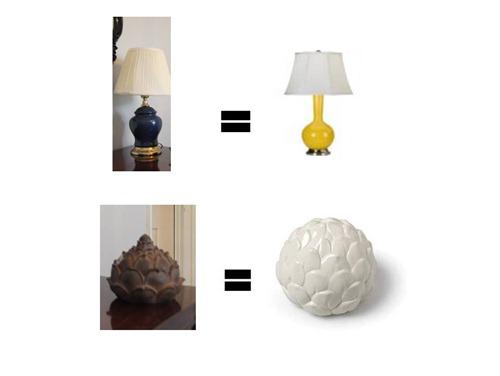 lamp artichoke