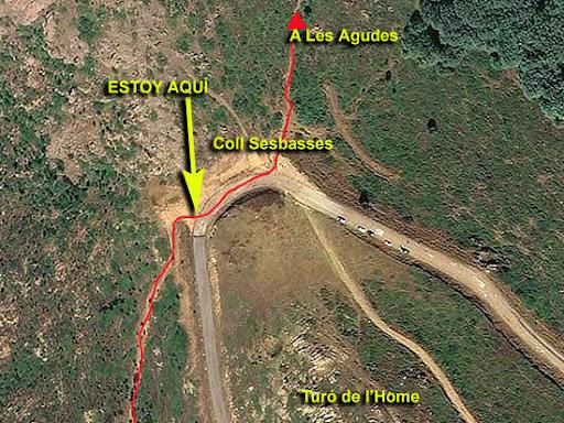 Ascenso a Les Agudes desde Fontmartina por el GR 5-2 5641
