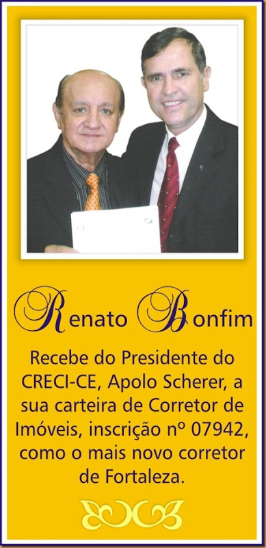 PUBLICIDADE - RENATO BONFIM CORRETOR - 050310
