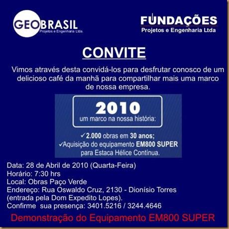 CONVITE CAFÉ 2010.1