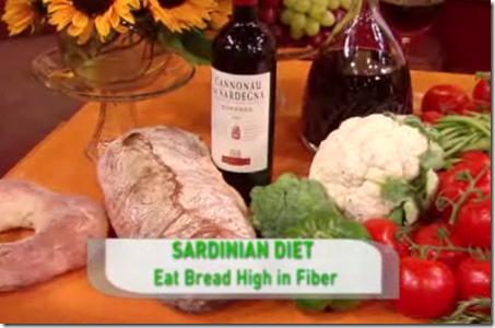 Sardinian Diet by Dan Buettner