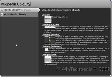 Ubiquity Wiki