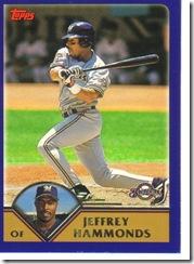 Card 25 Jeffrey Hammonds