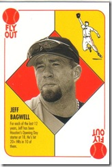 Card 17 Jeff Bagwell Insert