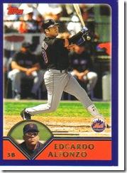 Card 21 Edgardo Alfonzo