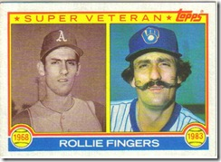 Rollie Fingers Mustache
