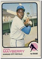 73 John Mayberry